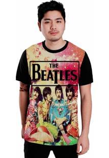 Camiseta Stompy The Beatles - Masculino