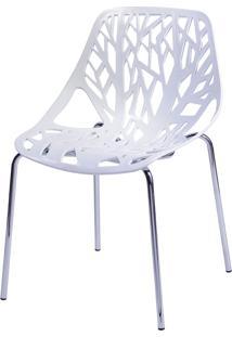 Cadeira De Jar Folha Or-1113 – Or Design - Branco