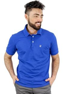 Polo Norfolk Em Pique Com Bordado - Masculino