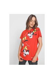 Camiseta Colcci Disney Pateta Vermelha