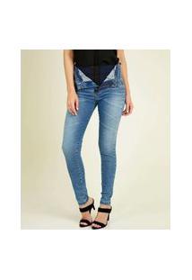 Calça Feminina Jeans Skinny Super Lipo Sawary
