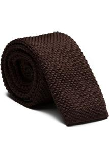 Gravata Tricot Brown