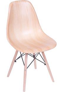 Cadeira Eames Base Madeira E Wood