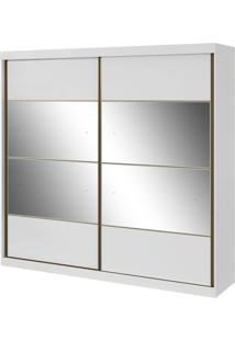 Armário New Outlander 2 Portas Com Espelhos Branco