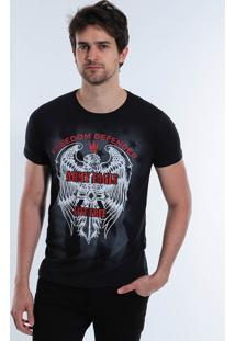 Camiseta Army Eagle Masculina Squadrow