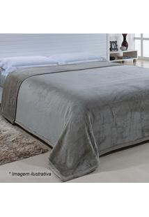 Cobertor Ártico King Size- Prateado- 220X240Cmniazitex