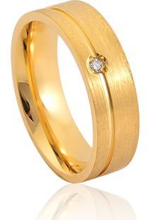 Aliança De Casamento Em Ouro 18K 4,5Mm