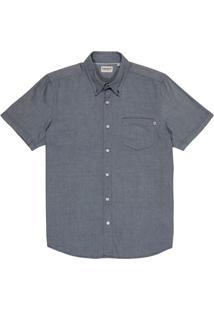 Camisa Pleasant River Oxford Curta