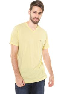 Camiseta Polo Play Lisa Amarela