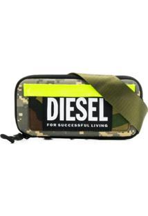 Diesel Pochete Camuflada - Verde