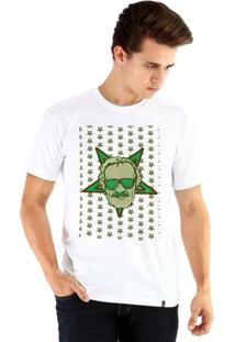 Camiseta Ouroboros Manga Curta Stan Lee - Masculino-Branco
