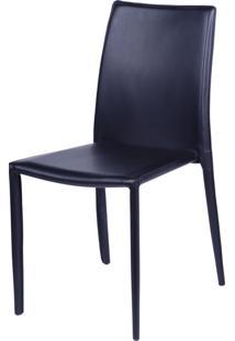 Cadeira De Jantar Glam Preto Or Design - Preto - Dafiti