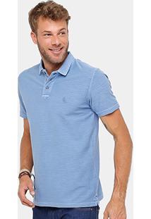 Camisa Polo Reserva Flamê Tinturada Masculina - Masculino