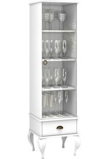 Cristaleira Movelbento Cl4006 Clássico 1 Porta 1 Gaveta