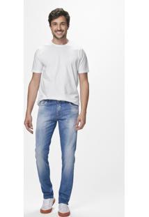 Calça Jeans Slim Estonado Malwee