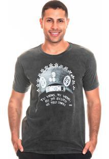 Camiseta Estonada Bloom Valença Liverpool Preto
