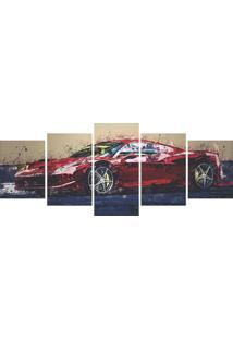 Quadro Decorativo Carro Pintura