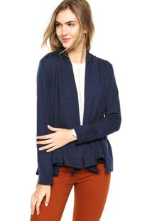 Blusa Malwee Casaqueto Azul