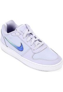 Tênis Nike Wmns Ebernon Low Prem Feminino - Feminino-Azul Claro
