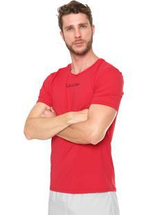 Camiseta Calvin Klein Underwear Logo Vermelha