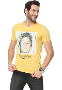 Camiseta Sergio K School Life Amarela