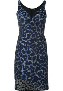 Tufi Duek Vestido Estampado - Azul