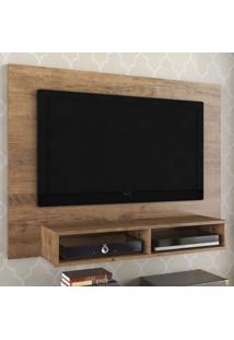 Rack Com Painel Para Tv Até 42 Polegadas Baly 2 Gavetas Ébano - Viero Móveis