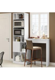 Armário De Cozinha Smart 2 Portas Branco Tx - Bentec