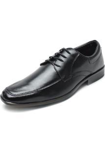 Sapato Social Fiveblu Cadarço Preto