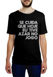 Camiseta Hunter Se Cuida Preta