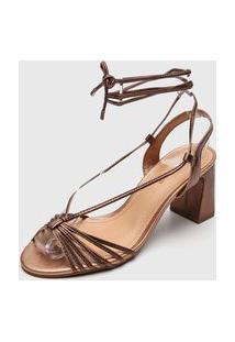 Sandália Bottero Amarração Bronze