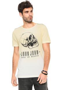 Camiseta John John Blend Amarela
