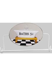 Porta Toalha Baths Kasa Ideia