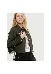 Jaqueta Feminina Sarja Zune Jeans
