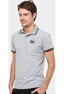 Camisa Polo Rg 518 Gola Poá Masculina - Masculino