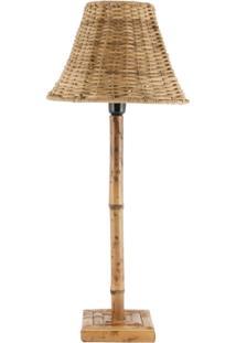 Abajur Em Bambu