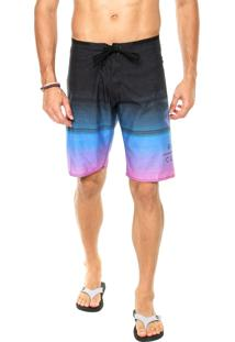 Bermuda Água Rip Curl Gm Fader 21 Multicolorido