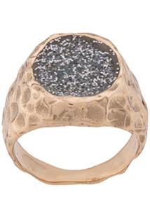 Voodoo Jewels Anel Com Brilho - Dourado