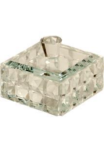 Porta-Joias De Cristal Decorativo Metric