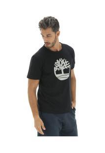 Camiseta Timberland Ss Kennebec Rvr - Masculina - Preto