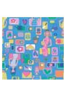 Papel De Parede Autocolante Rolo 0,58 X 3M - Infantil 379