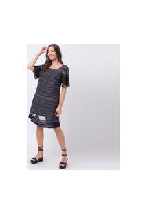 Vestido Mercatto Vestido Preto