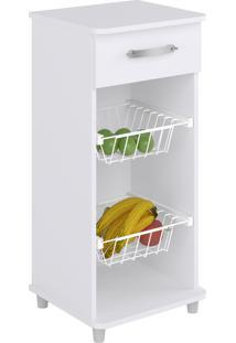 Fruteira Compacta Branco Percasa Móveis