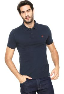 Camisa Polo Timberland Slim Kennebec Azul-Marinho