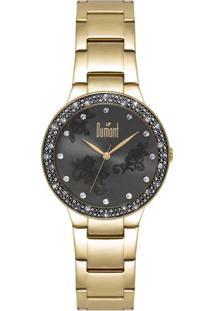 4c6a6441a1d Relógio Digital Dumont Swarovski feminino