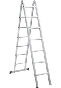 Escada Articulada 3 Em 1 De Alumínio 2 X 7 Vonder