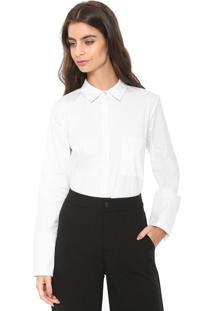 Camisa Maria Filó Lisa Branca