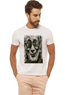 Camiseta Joss - Gandhi - Masculina - Masculino-Branco