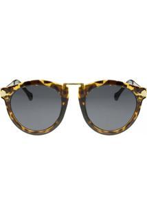 bfaea2e77 R$ 99,99. Dafiti Óculos De Sol Feminino Piccadilly Marrom Onça Flector  Circus Ray ...