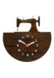 Relógio De Parede Decorativo - Modelo Maquina De Costura